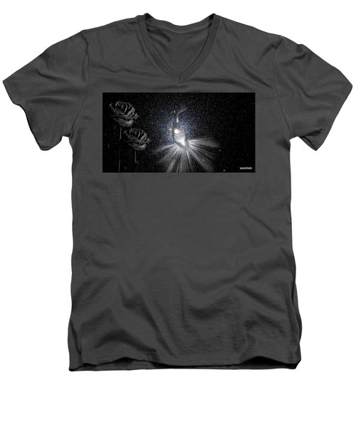 Sadnesses Are Beauties Erased By Suffering Men's V-Neck T-Shirt