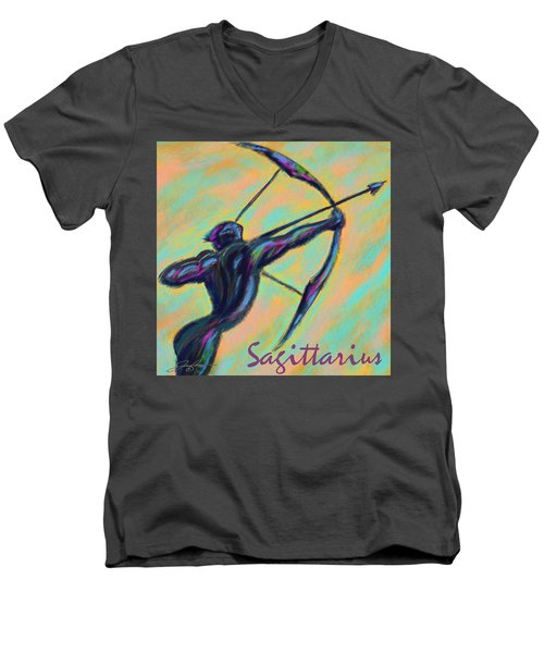 Sagittarius Men's V-Neck T-Shirt