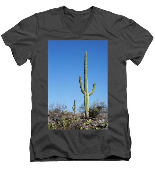Saguaro National Park Arizona Men's V-Neck T-Shirt