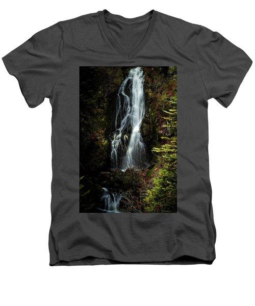 Sahale Falls Men's V-Neck T-Shirt
