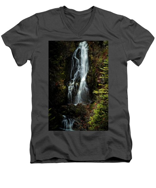 Sahale Falls Men's V-Neck T-Shirt