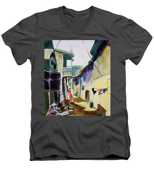 Saigon Alley Men's V-Neck T-Shirt