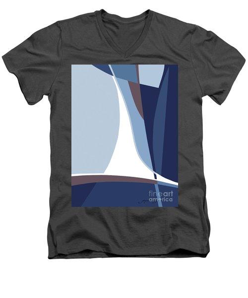 Sail Men's V-Neck T-Shirt