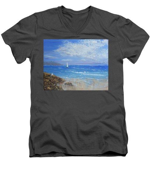 Sailing Away Men's V-Neck T-Shirt