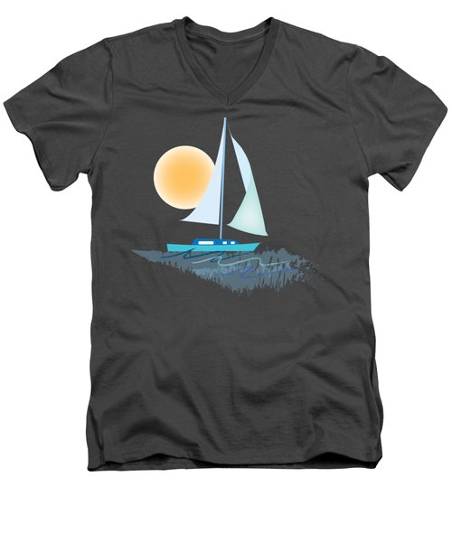 Sailing Day Men's V-Neck T-Shirt