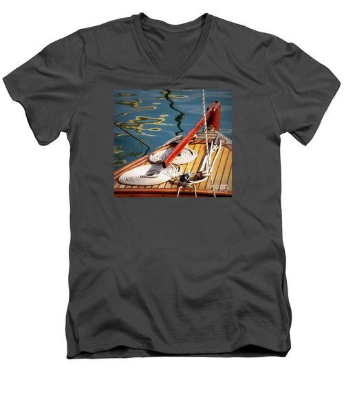Sailing Dories 4 Men's V-Neck T-Shirt