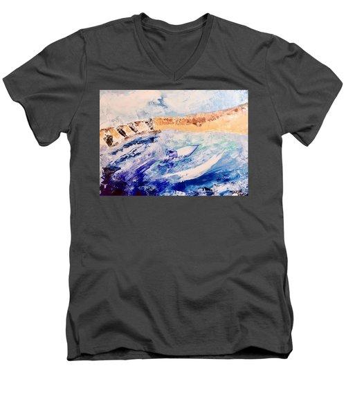 Sailing Men's V-Neck T-Shirt