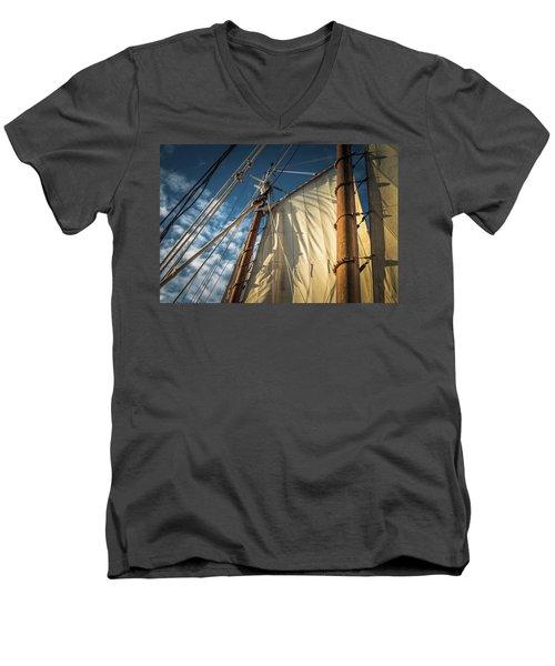 Sails In The Breeze Men's V-Neck T-Shirt