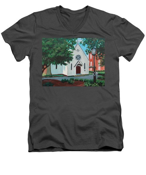 Saint Mary's Chapel Men's V-Neck T-Shirt