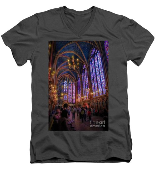Sainte-chapelle Men's V-Neck T-Shirt