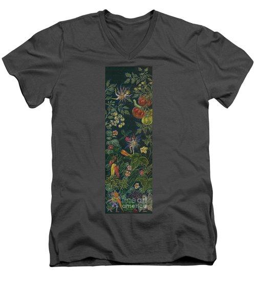 Salad Men's V-Neck T-Shirt by Dawn Fairies