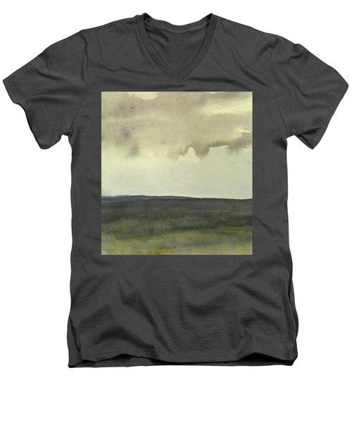 Salen Cloudy Weather. Up Tp 60 X 60 Cm Men's V-Neck T-Shirt