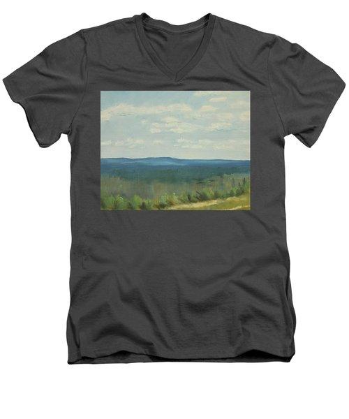 Salen Daylight Two Men's V-Neck T-Shirt