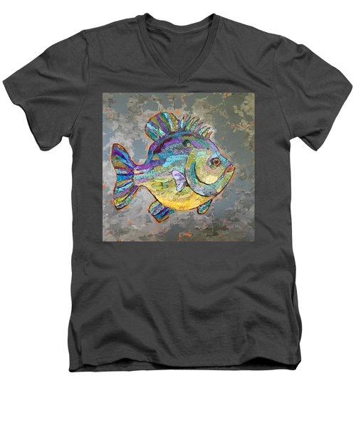Sally Sunfish Men's V-Neck T-Shirt