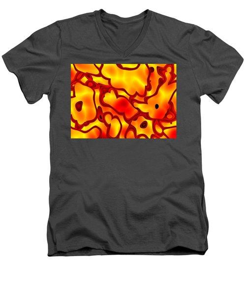 Salpornis Men's V-Neck T-Shirt
