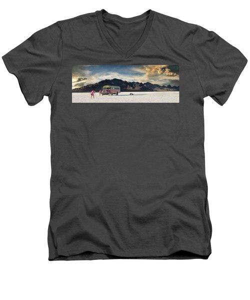 Salt Family Men's V-Neck T-Shirt