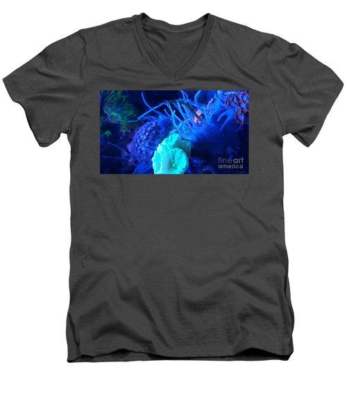 Saltwater Sponge Men's V-Neck T-Shirt