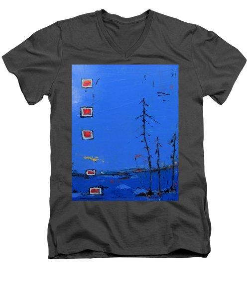 Salut Abitibi Men's V-Neck T-Shirt