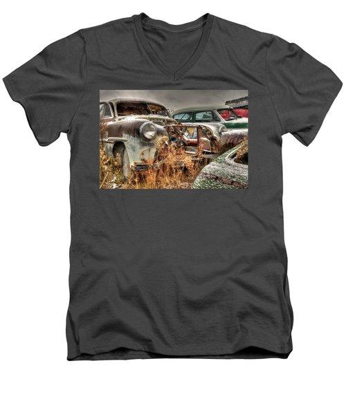 Salvage Time Men's V-Neck T-Shirt
