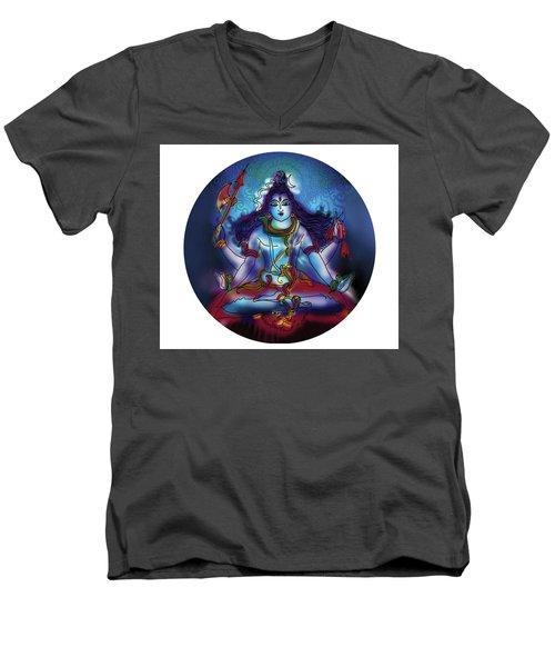 Samadhi Shiva Men's V-Neck T-Shirt