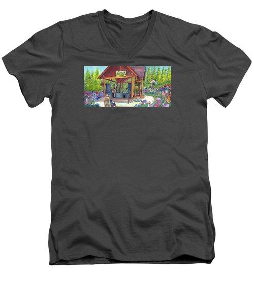 Samantha Fish In Frisco Men's V-Neck T-Shirt