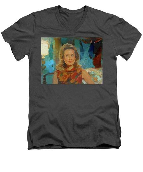 Samantha Men's V-Neck T-Shirt