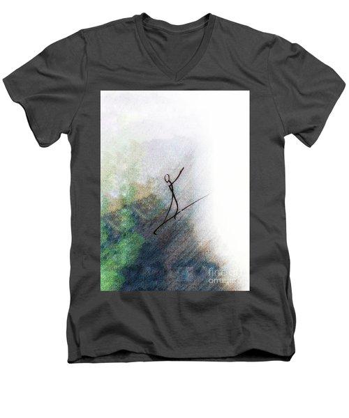 Samba Men's V-Neck T-Shirt