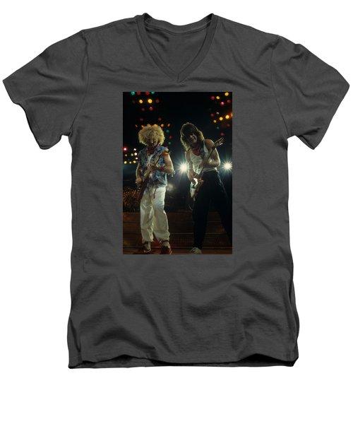 Sammy And Eddie 5150 Men's V-Neck T-Shirt