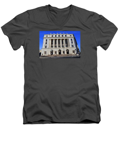 San Antonio Post Office Men's V-Neck T-Shirt