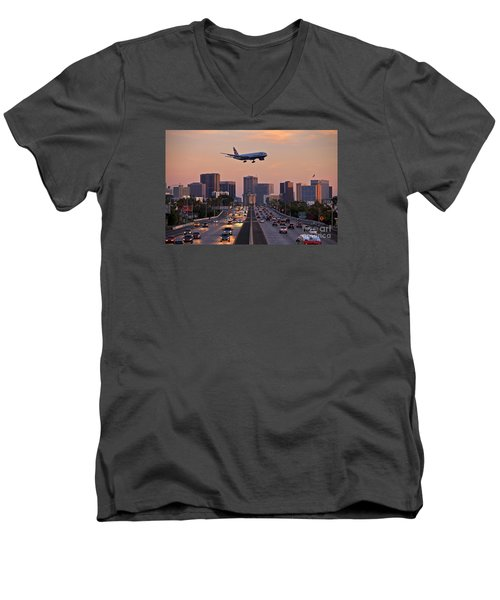 San Diego Rush Hour  Men's V-Neck T-Shirt