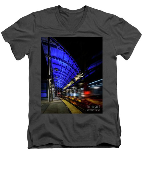 San Diego Trolley Men's V-Neck T-Shirt