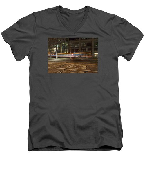 San Diego Trolly Men's V-Neck T-Shirt