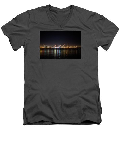 San Francisco Shot Men's V-Neck T-Shirt