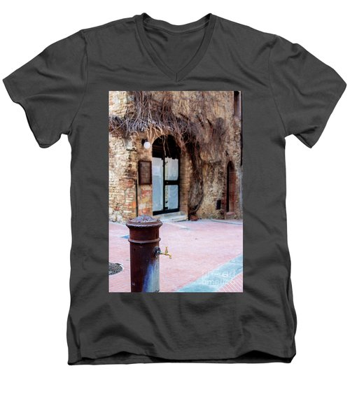 San Gimignano Men's V-Neck T-Shirt