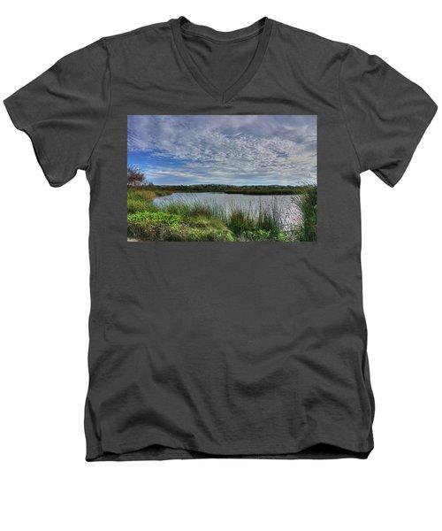 San Joaquin Wildlife Reserve Men's V-Neck T-Shirt