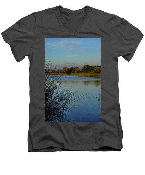 San Joaquin Wildlife Sanctuary Men's V-Neck T-Shirt
