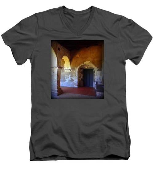 San Juan Capistrano Mission Men's V-Neck T-Shirt