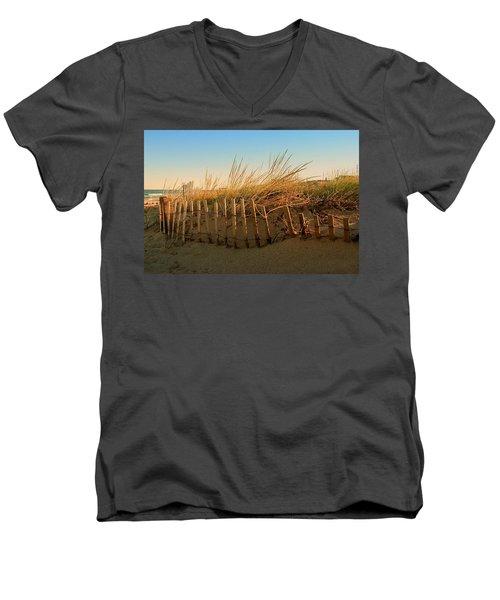 Sand Dune In Late September - Jersey Shore Men's V-Neck T-Shirt