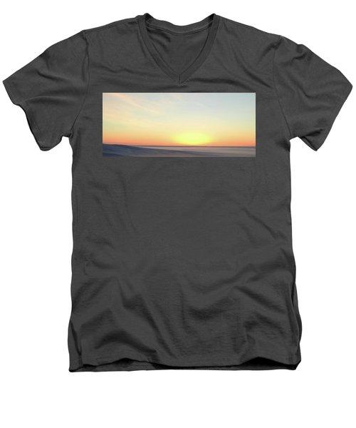 Sand Painting 3 Men's V-Neck T-Shirt