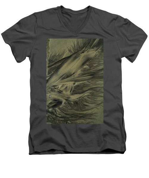Sand Patterns Myths Of The Ages Men's V-Neck T-Shirt