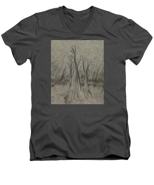 Sand Reel Men's V-Neck T-Shirt