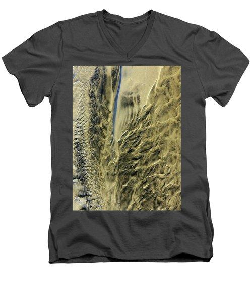 Sand Sculpture Men's V-Neck T-Shirt