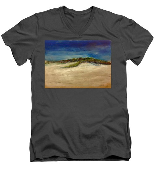 Sandilands Beach - Overcast Day Men's V-Neck T-Shirt