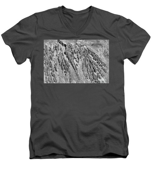 Sands Of Time Monochrome Art By Kaylyn Franks  Men's V-Neck T-Shirt