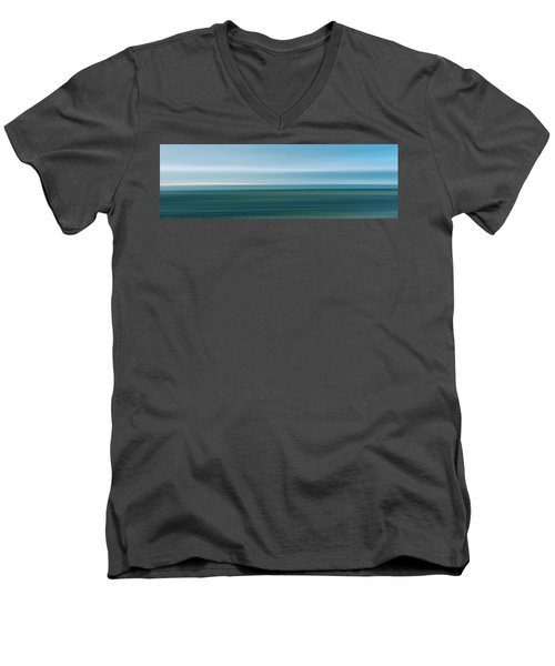 Sandy Neck 1 Men's V-Neck T-Shirt