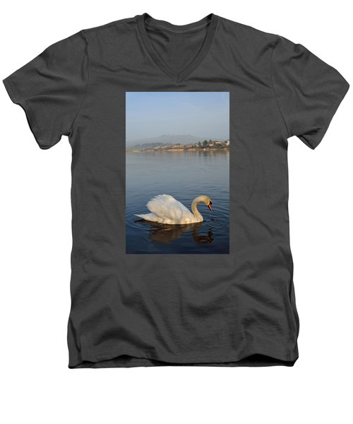 Sandy Water Park 4 Men's V-Neck T-Shirt