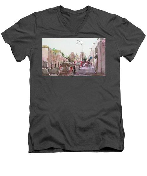 Sanfransisco Street Men's V-Neck T-Shirt