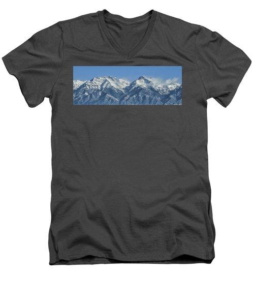 Sangre De Cristo Fourteeners Men's V-Neck T-Shirt