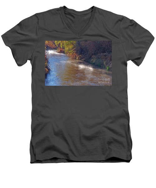 Santa Cruz River - Arizona Men's V-Neck T-Shirt