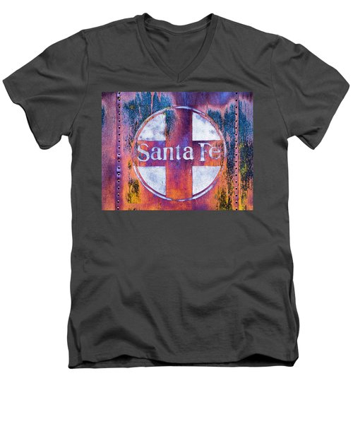 Santa Fe Rr Men's V-Neck T-Shirt